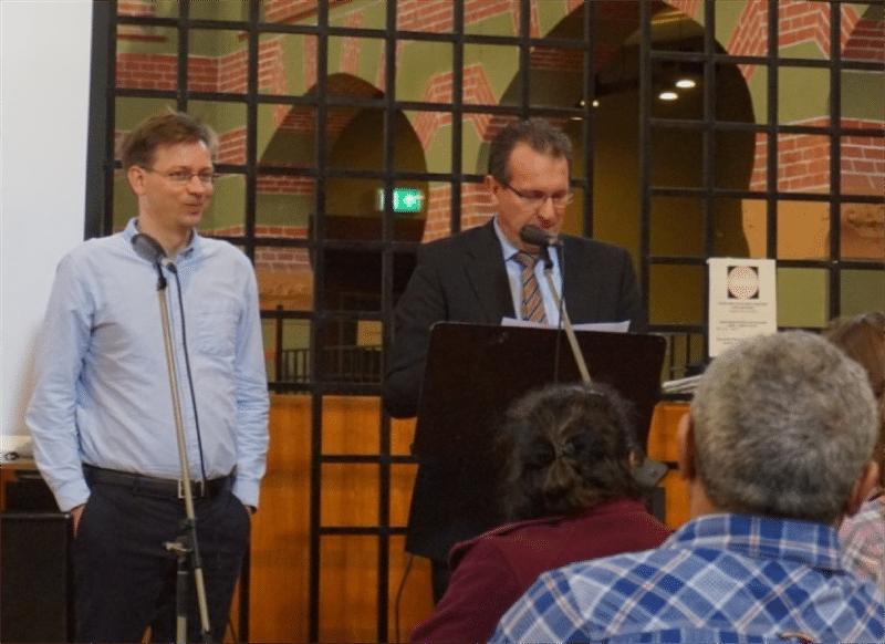 Eelco van Es (l) en Ernst Ottens