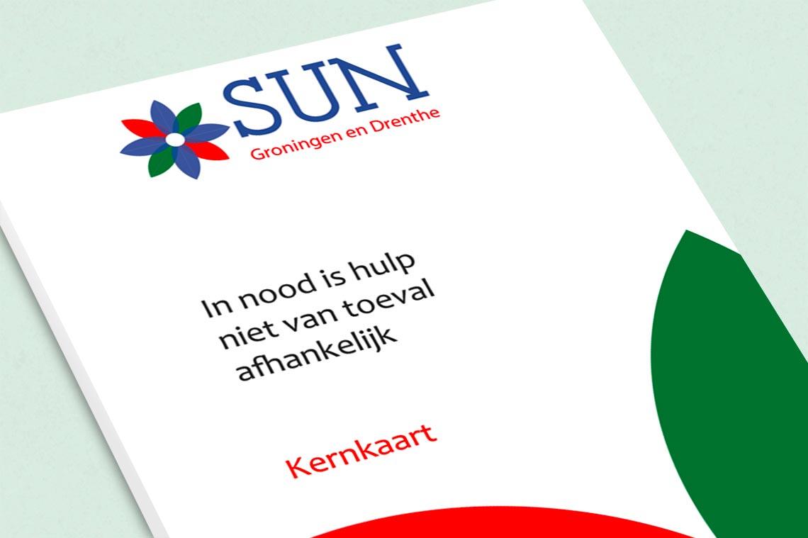 Kernkaart Sun Groningen en Drenthe